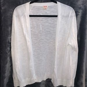 Mossimo Supply Co. Sweaters - White Cardigan
